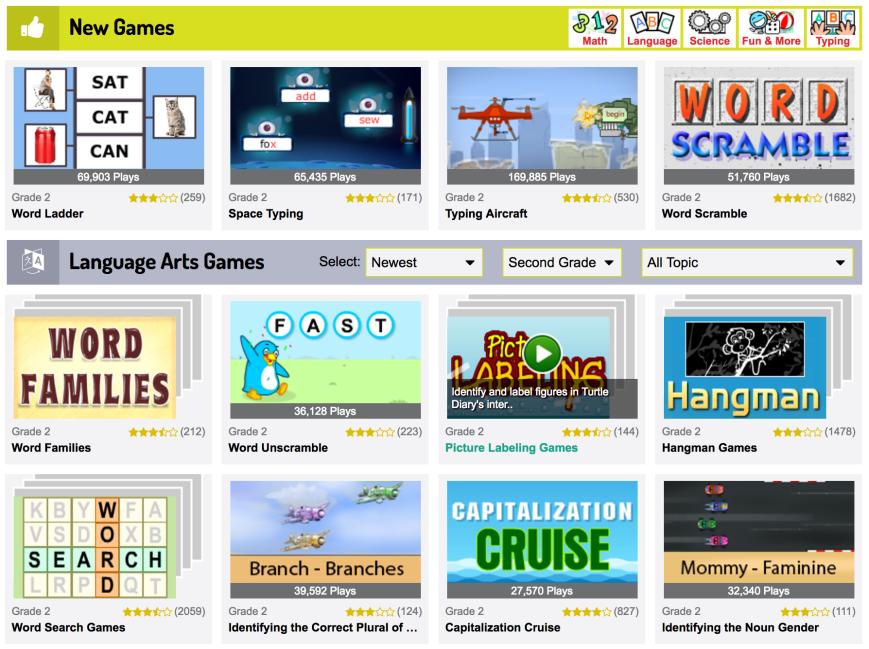 Language Arts – SmartApple Learning